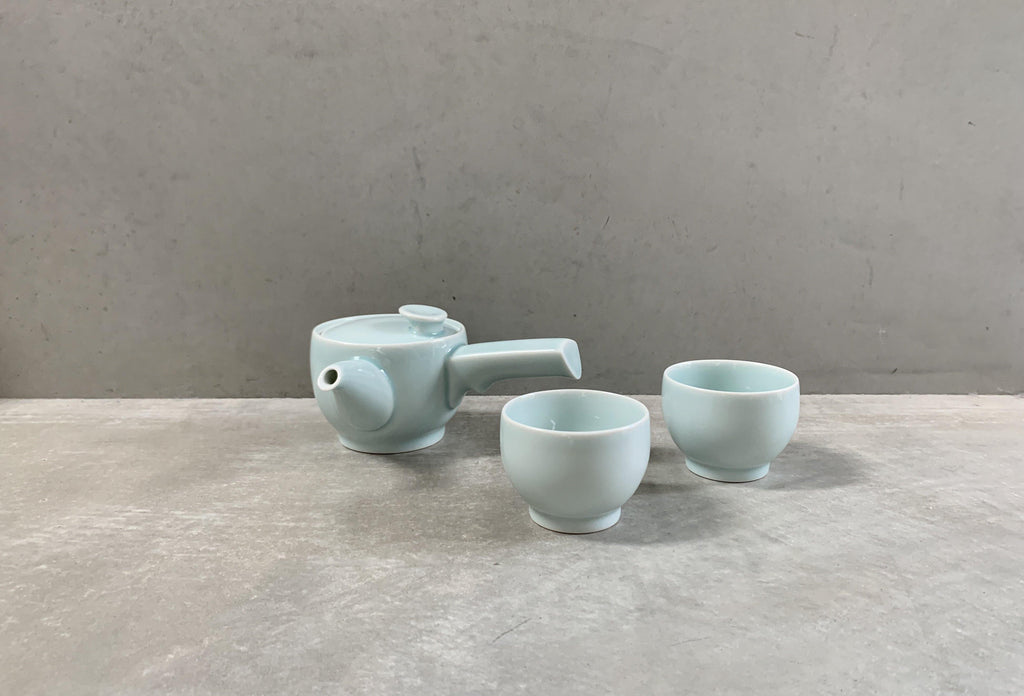 SAWA Tea Set Pale Green (3pcs)