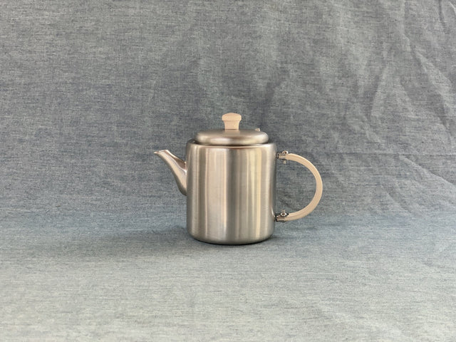 SS Tea Pot w/Side Handle