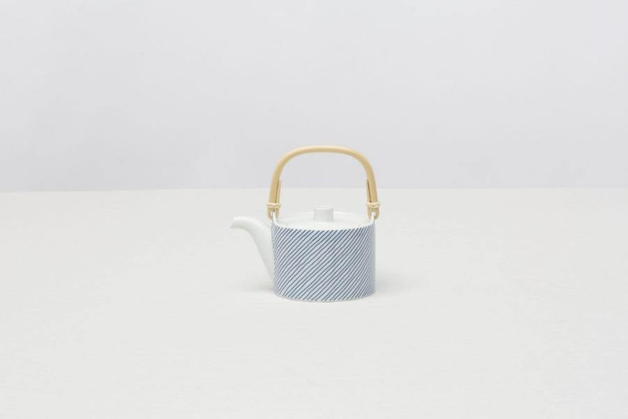 CIBI stripes tea pot