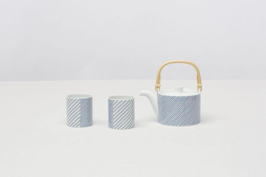 CIBI stripes tea cup