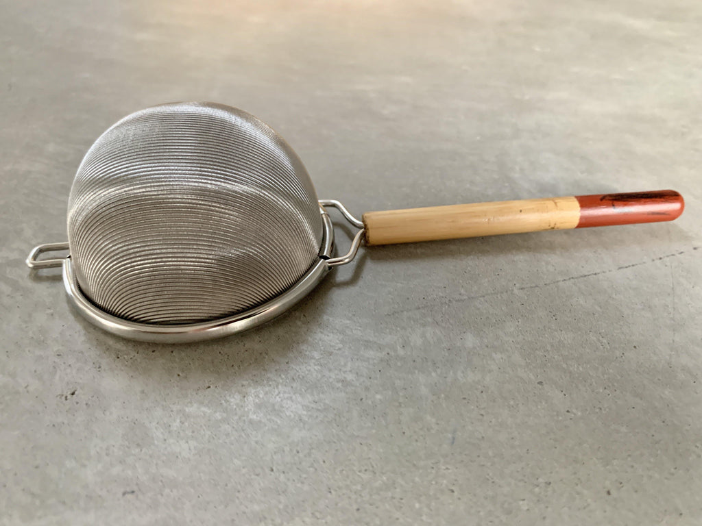 Tea Strainer with Bamboo Handle
