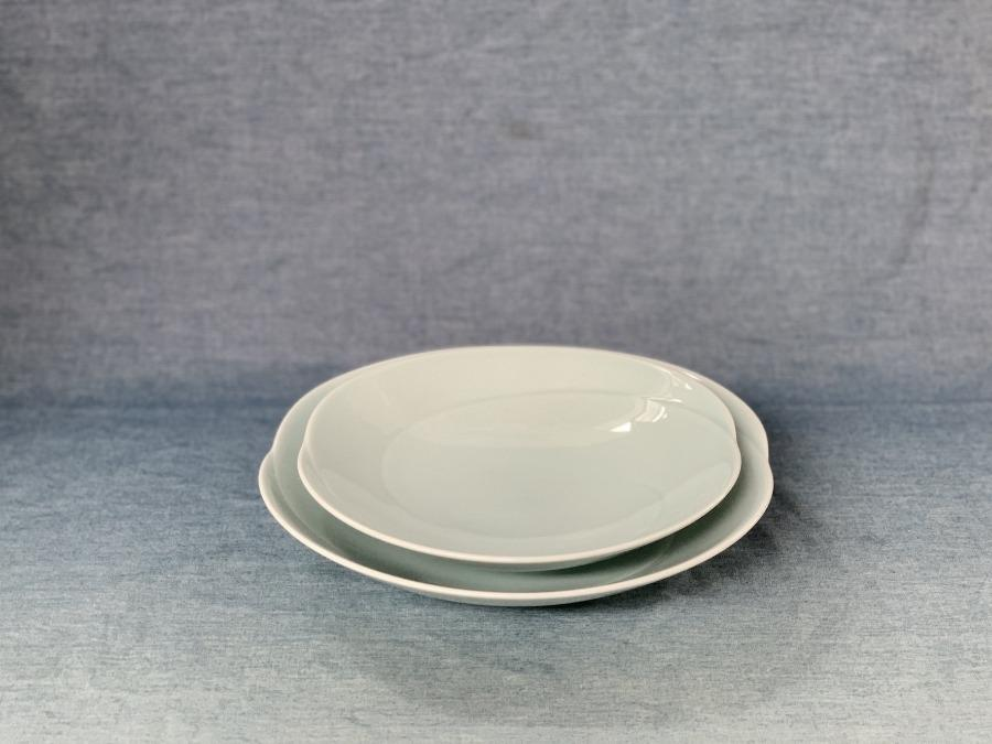 Tomoe Plate/Pale green