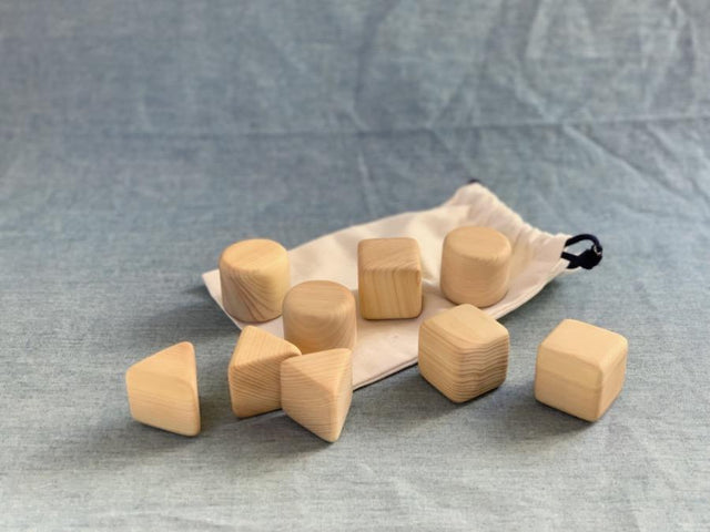 Wooden toy - Tsumiki blocks - CIBI Yama-no-Kujira