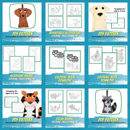 Coloring, Patterns & Kits