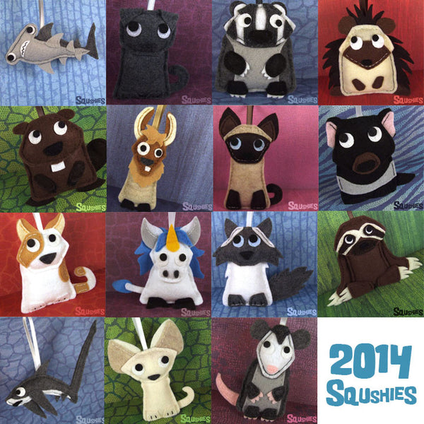New Squshies of 2014