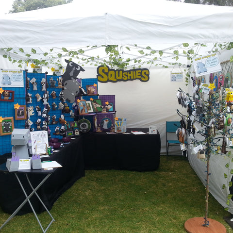 Squshies Booth - Jackalope Arts Fair