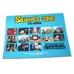 Squshies Calendar - Back Cover