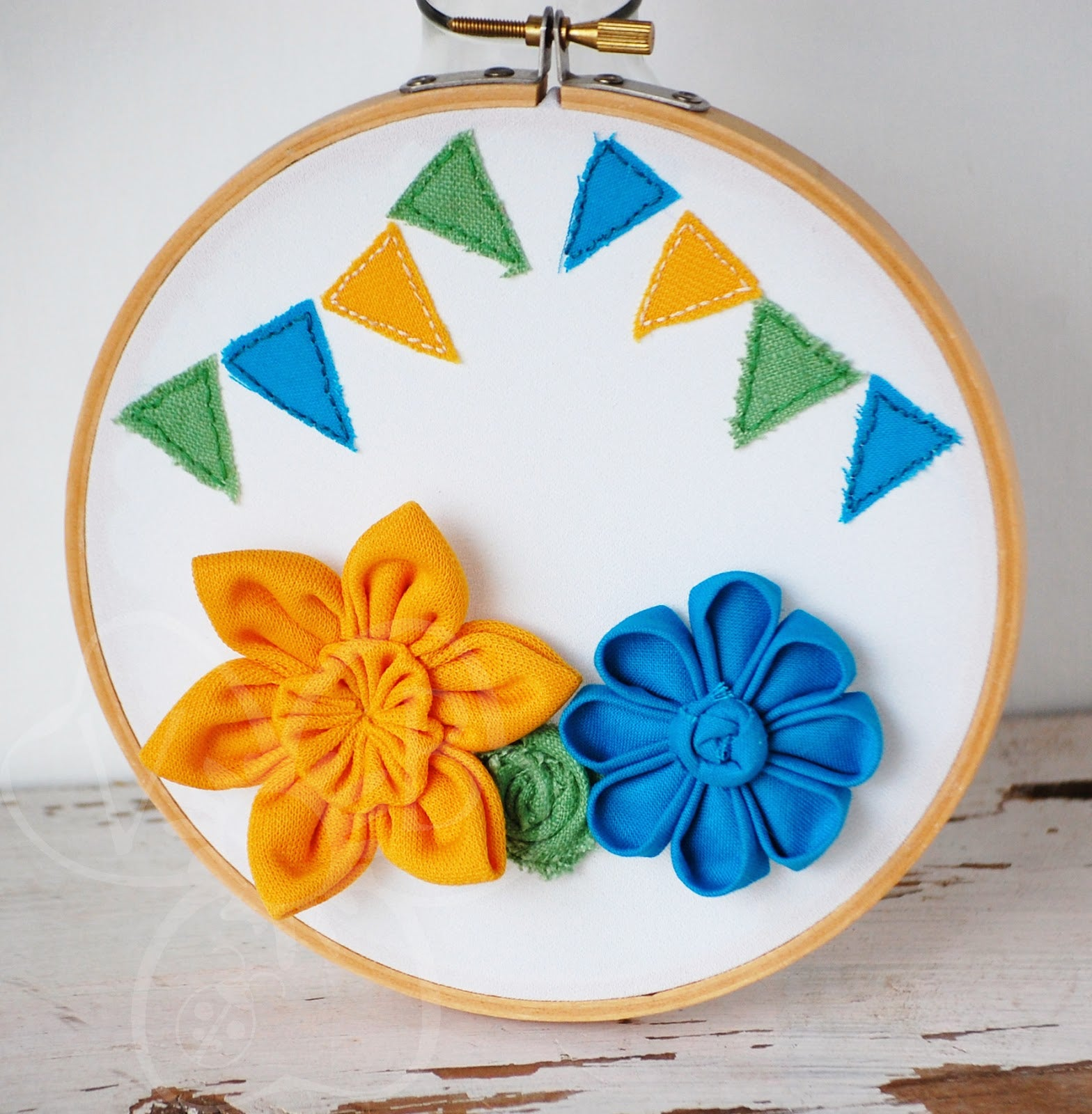 Custom Hoop Art