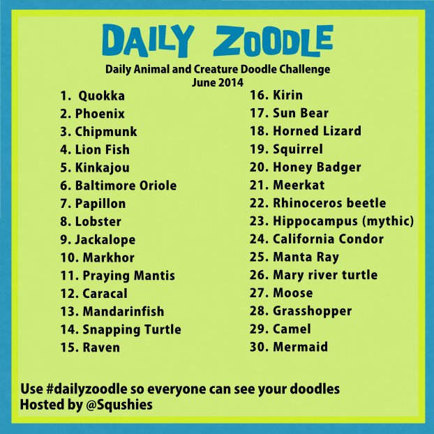 june daily zoodle