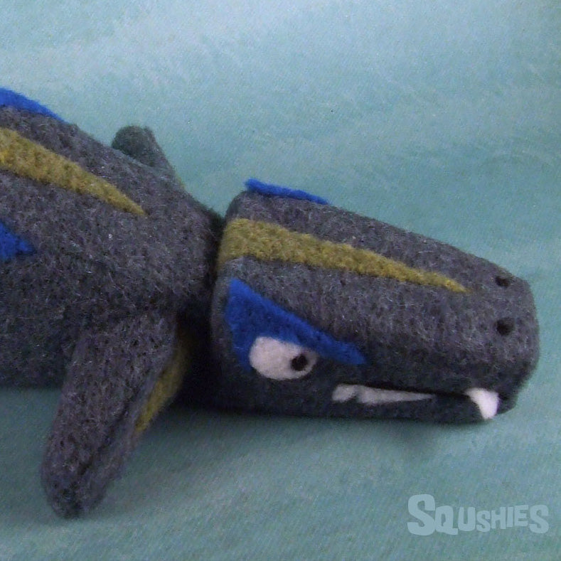 needled felted lieopleurodon