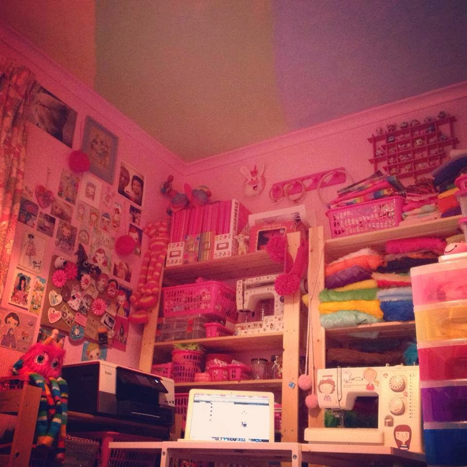 Kittypinkstars workspace