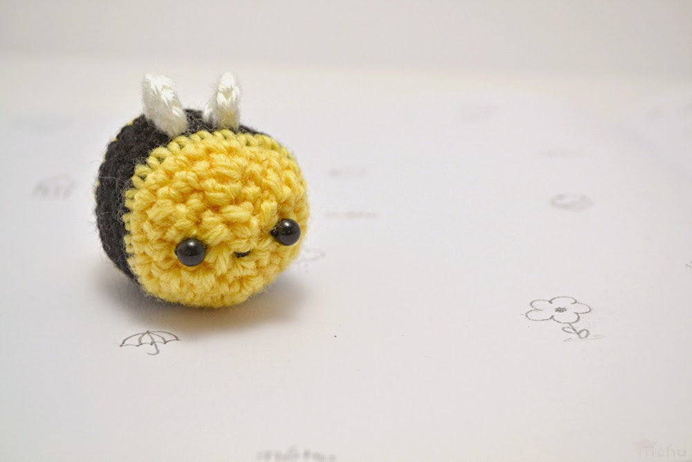 Mohu - Little Bee Amigurumi
