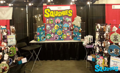 squshies designercon display
