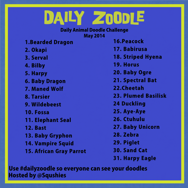 may dailyzoodle prompts