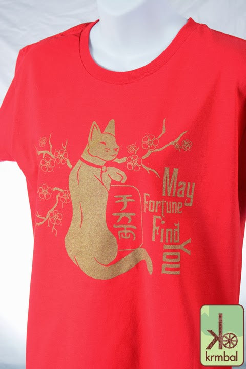 Krmbal- Lucky Cat T-shirt