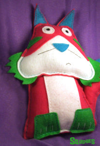 felt animal cat plush