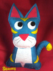 felt animal plush cat