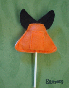 squshies felt animal cupcake topper