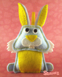 felt animal easter ornament