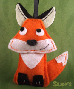felt animal fox squshies