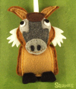 squshies felt red river hog