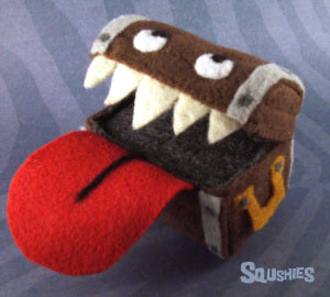 felt monster mimic