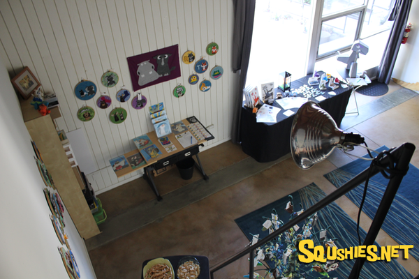 Squshies Studio view from above