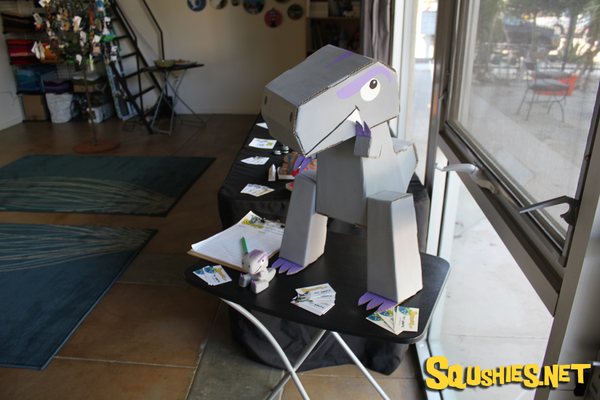 Squshies Paper Toy T-Rex