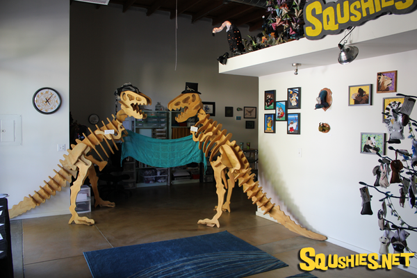 Squshies Giant Wooden Dinosaurs