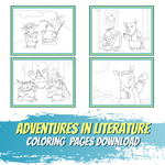 Adventures in Literature Coloring Pages