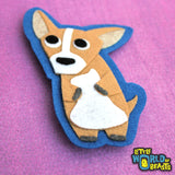 Felt Dog Patch - Iron on or Sew On  - Chihuahua