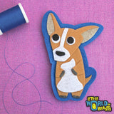 Habanero the Chihuahua Patch - Felt Animal Applique - Little World of Beasts