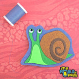 Woodland Animal Patch - Snail - Little World of Beasts