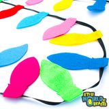 Chirstmas Lights - Felt Shapes for Crafts and Garlands