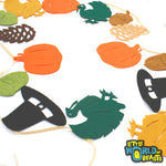 Assorted Thanksgiving Shapes - 30 Pre-cut Shapes