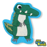 Felt Animal- Sew On Patch - Alligator - Little World of Beasts