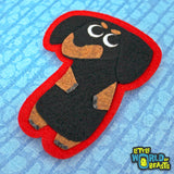 Dachshund - Felt Animal Patch