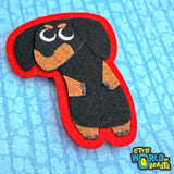 Dog Breed - Felt Animal Patch