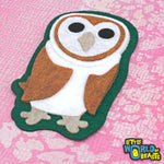 Animal Applique -  Barn Owl - Little World of Beasts
