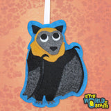 Flying Fox Ornament - Felt Australian Animal Ornament - Little World of Beasts
