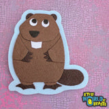 Beaver - Felt Applique