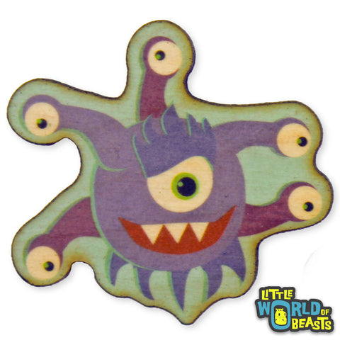 Beholder - D&D Monster - Wooden Pin
