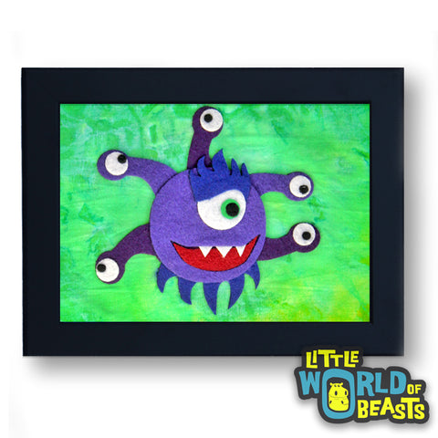 Beholder - D&D Monster Art - RPG Player Gift