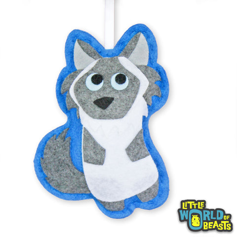 Emerson the Himalayan Cat - Felt Animal Christmas Ornament - Little World of Beasts