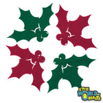 Holly - Laser Cut Felt Shapes for Crafting