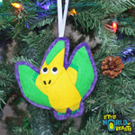 Errol the Pteranodon - Felt Dinosaur Ornament - Little World of Beasts
