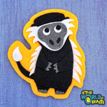 Monkey - Iron on or Sew on Patch - Little World of Beasts