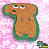 Mitzi the Dachshund Dog Sew On Patch