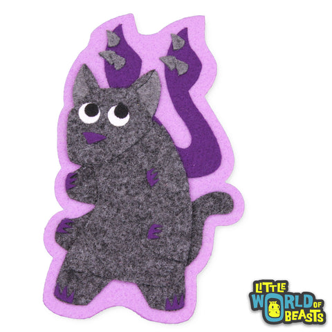 Displacer Beast - Felt D&D Monster Patch - Little World of Beasts
