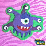 D&D Monster - Iron On or Sew On Felt Patch - Beholder